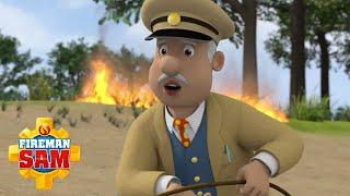 Fire at the river!   NEW Episodes   Fireman Sam US   Kids Cartoon
