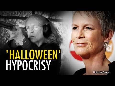 Jamie Lee's opinions on guns make Halloween a scary show of Hollywood hypocrisy  Ben Davies