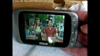 RCA DHT235A Pocket Digital Color TV