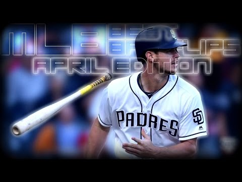 MLB 2017 Best Bat Flips of April ᴴᴰ