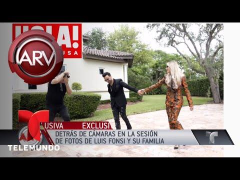 Luis Fonsi y su esposa presentaron a su hijo | Al Rojo Vivo | Telemundo