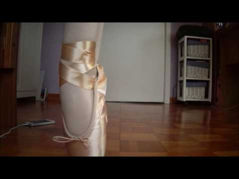 NEW pointe shoes (not broken yet)   pointe work #Charlotte