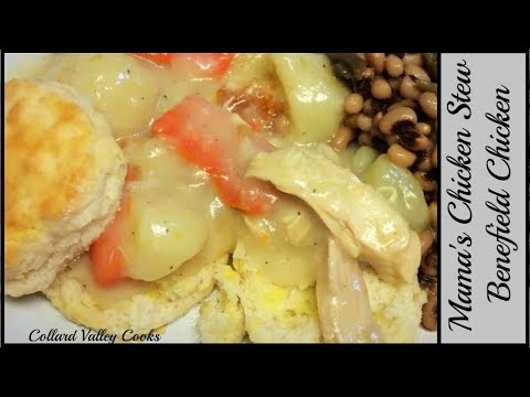 How We Make Chicken Stew With Open Faced Biscuits,The Best Southern Cooks Use Simple Ingredients