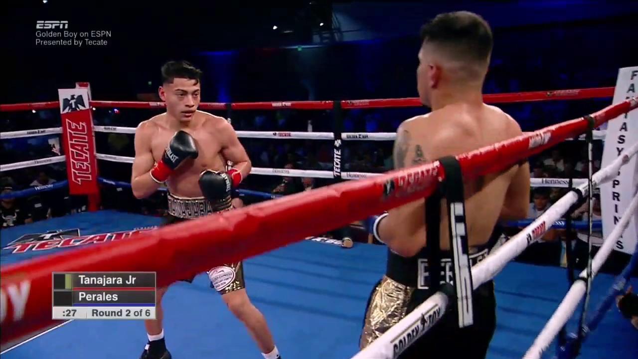 Hector Tanajara vs Daniel Perales. - YouTube