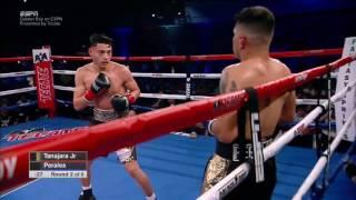 Hector Tanajara vs Daniel Perales.