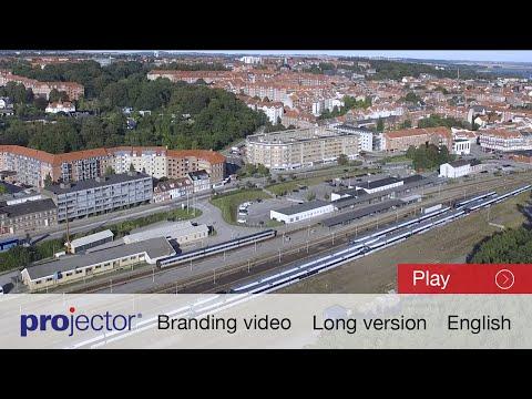Train maintenance - English video - Projector Randers