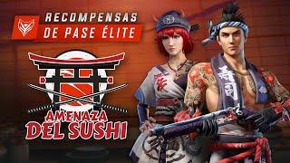 ¡Recompensas del Sushi! 🍣 | Garena Free Fire