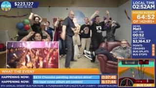 """https://www.desertbus.org/ Room dances to """"Flyers - BRADIO"""" Uploade..."""