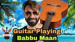 Guitar playing Babbu Maan