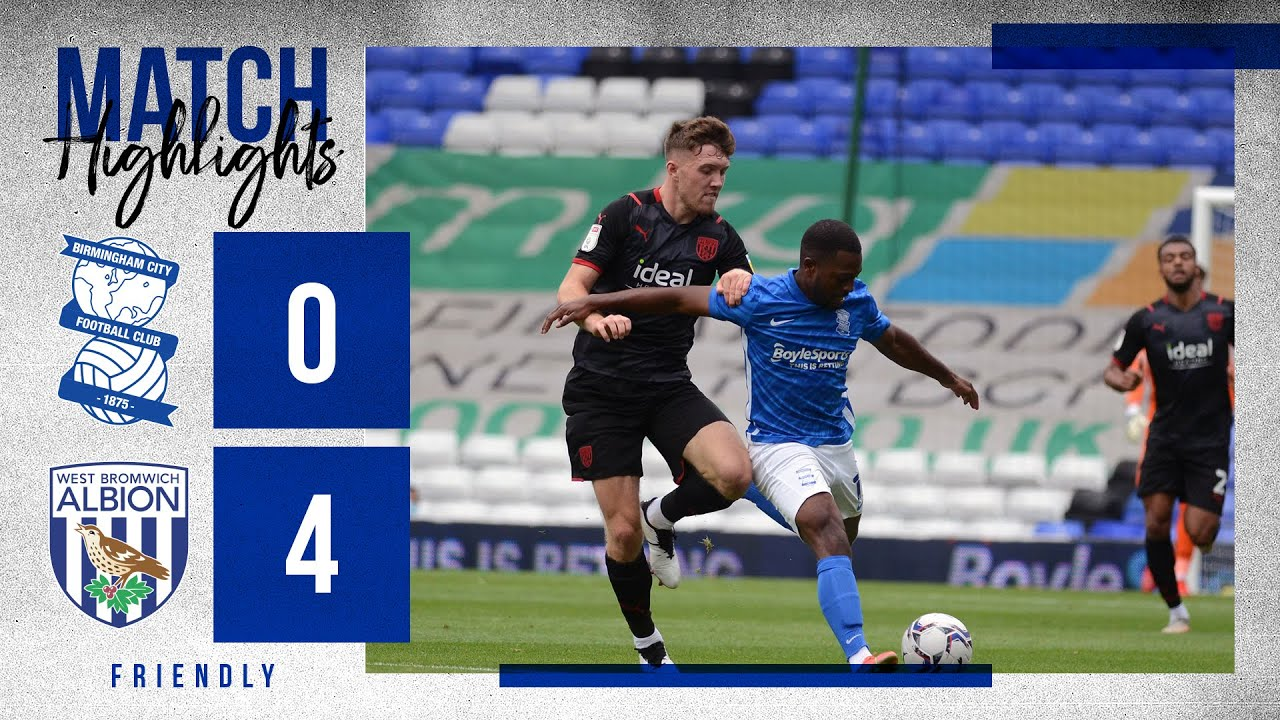 HIGHLIGHTS | Blues 0 - 4 West Bromwich Albion