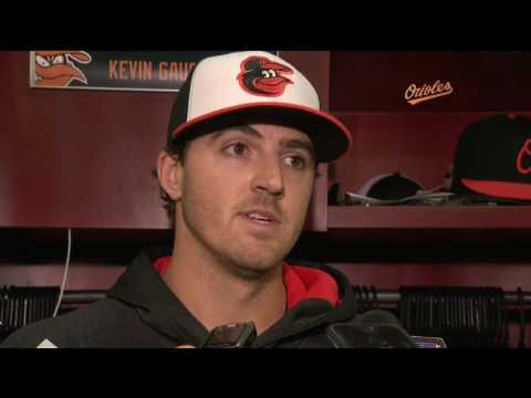 Kevin Gausman after allowing three homers against Red Sox