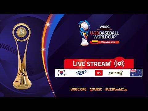 Korea v Australia – U-23 Baseball World Cup 2018