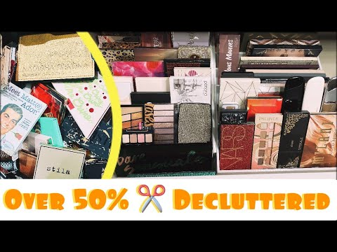 MASSIVE 50% ✂️ Eyeshadow Palette Declutter