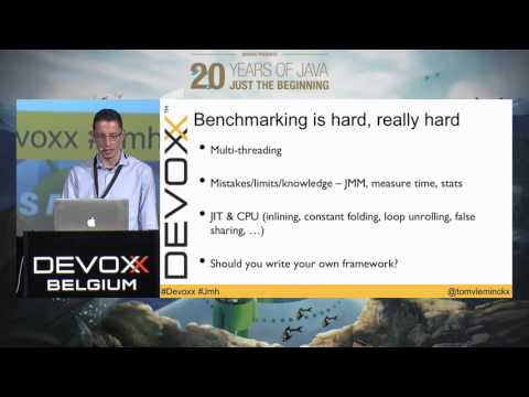 Hands-on with JMH, become a benchmarking expert in 30 minutes! by Tom Vleminckx