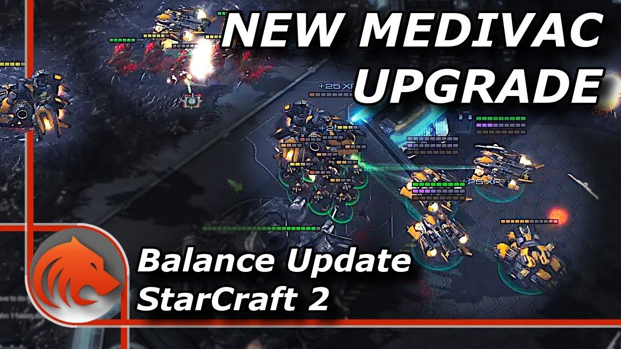 StarCraft 2: *NEW* Medivac Speed Upgrade TESTED!