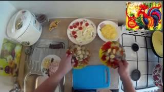 Холодные закуски, фаршированные яйца, три вида начинки!