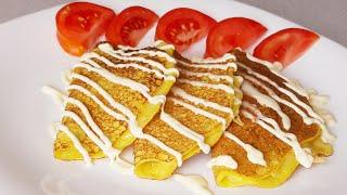 Сытный и простой завтрак попробовав будете готовить всегда!