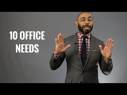 Top 10 Things Men Need In Their Offices/Accessories Men Should Have At Work