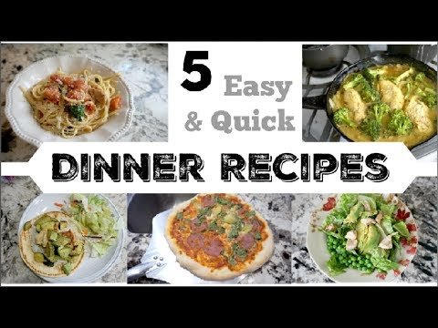 5 HEALTHY DINNER IDEAS | Easy Weeknight Recipes | Momma From Scratch