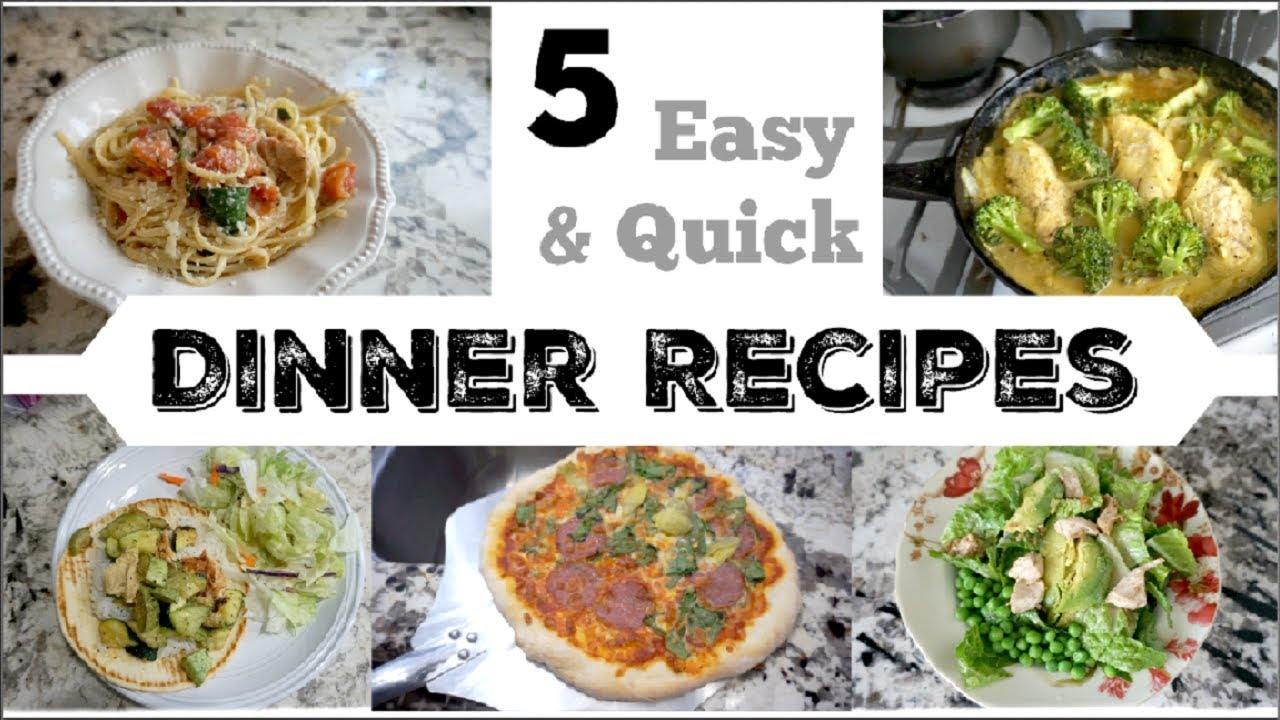 5 HEALTHY DINNER IDEAS | Easy Weeknight Recipes | Momma From Scratch ...
