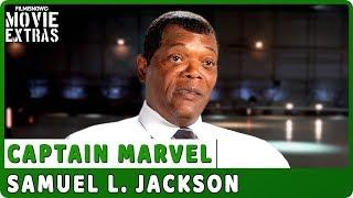 "CAPTAIN MARVEL   On-set Interview with Samuel L. Jackson ""Nick Fury"""