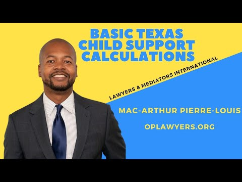 basic-texas-child-support-calculations