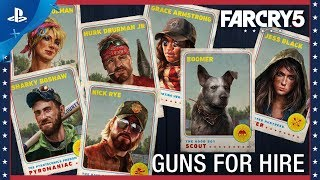 Far Cry 5 - Gun For Hire Compilation | PS4