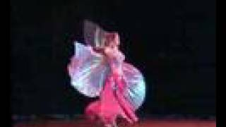 Sheila dancing with Isis Wings