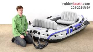 The New Intex Excursion 4 Inflatable Raft