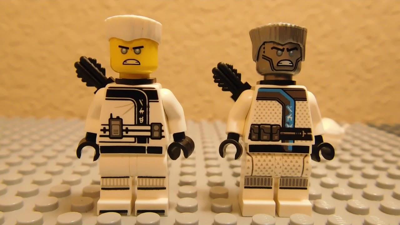 Lego ninjago 2018 ninjago zane minifigure in hand not - Ninjago lego zane ...