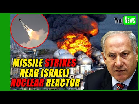 Israel sounds alarm after Syrian missile strikes near nuclear reactor.