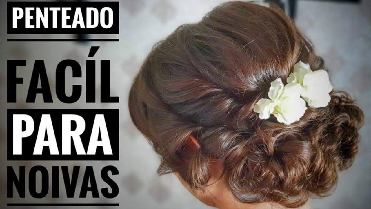 Como Fazer Penteados Para Casamentos Em Cabelos Lisos E Escuros