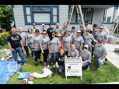 SCCAOR & Rebuilding Together - Making Santa Clara County a Better Place to Live
