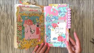 pocket insert for travelers notebook tutorial