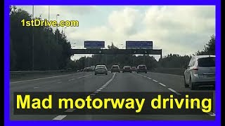 Motorway Driving - stay safe on the roads this Easter