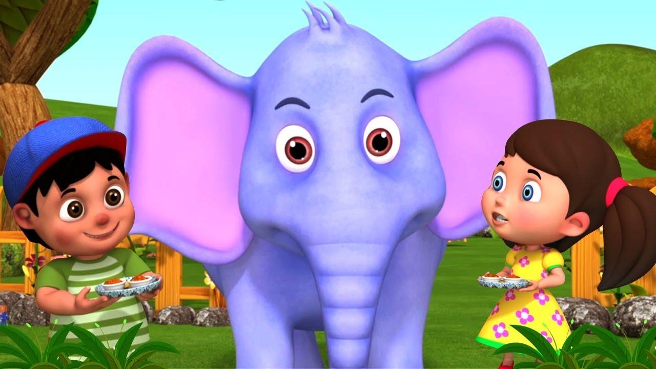 Hathi Raja Kahan Chale   Hindi Rhymes   हाथी राजा कहाँ चले   Hindi Balgeet    Kids Channel India