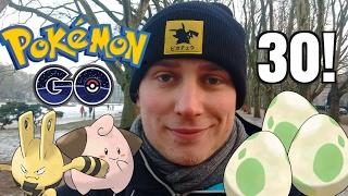 WYKLUWAM 30 JAJEK W POKEMON GO! (Zagrajmy w Pokemon GO odc. 21)