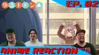 Otaku Saga reacts to the fourth episode of Yuru Camp△! Join us on D...