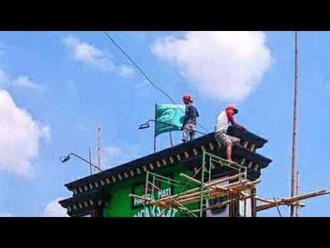 Tugu Pagar Nusa Terbesar Di Bojonegoro ? - A'an TV