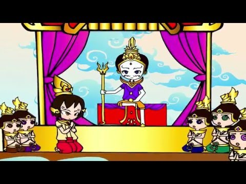 Animation 2D : Ramayana, The Origins Of Ravana # รามเกียรติ์ ตอน กำเนิดทศกัณฐ์