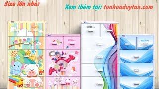Tủ nhựa Mina L - mẫu mới năm 2017