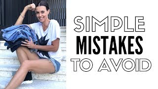 Top 10 Mistakes We All Make Buying Jeans - How To Style