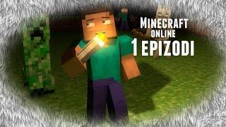 Minecraft online  pirveli dge 1 epizodi