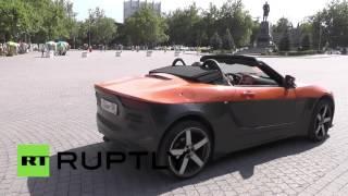 За Рулем «Крыма»: На Полуострове Презентовали Новый Спортивный Автомобиль