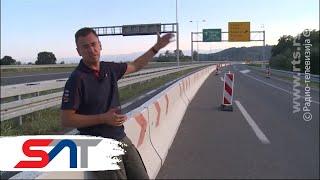 SAT: Patrola autoputem Miloš Veliki