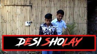 Sholay Ke Gabbar & Thakur (DESI SHOLAY) Kids Comic Version | COMEDY CHUTNEY