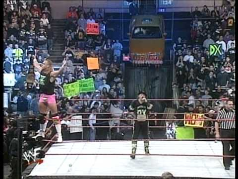 New Age Outlaws Entrance/Promo at Royal Rumble 2000 (HQ)