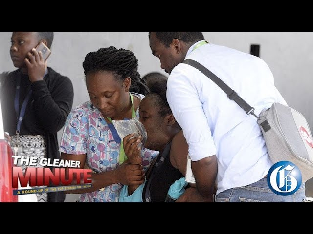 THE GLEANER MINUTE: 15 ill from noxious fumes...Oil spill...'James Bond' injured on set