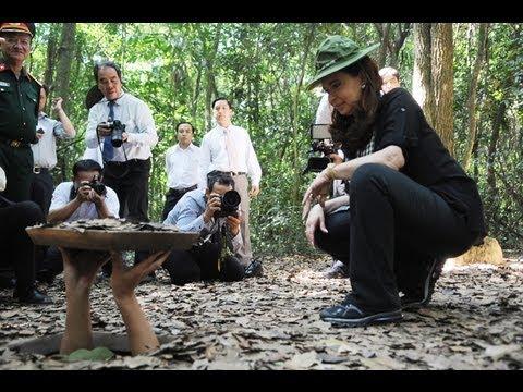 19 de ENE Recorrida por los tneles de Cu Chi Visita oficial a la Repblica de Vietnam  YouTube
