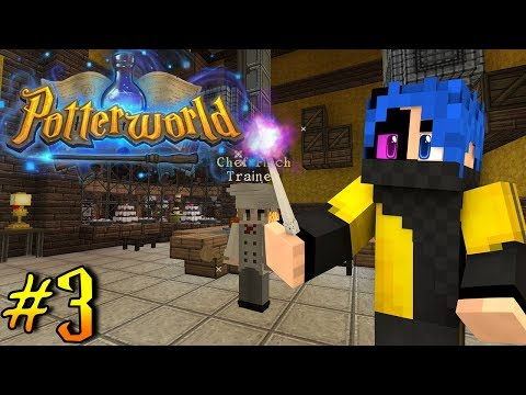 Saving The Wizards Thanksgiving Feast! - Potterworld (Minecraft